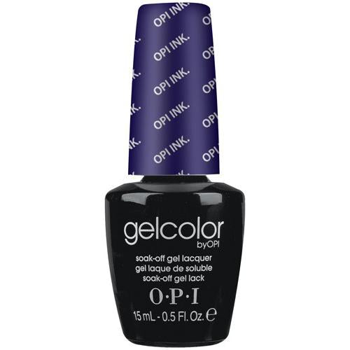 OPI GelColor, B61, Ink, 0.5oz