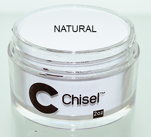 Chisel 2in1 Dipping Powder, Pink & White Collection, NATURAL, 2oz