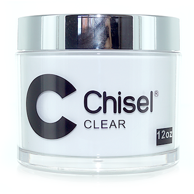 Chisel 2in1 Dipping Powder, CLEAR, 12oz