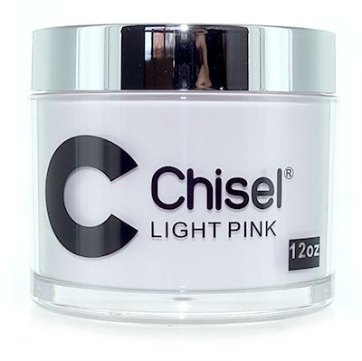 Chisel 2in1 Dipping Powder , LIGHT PINK, 12oz