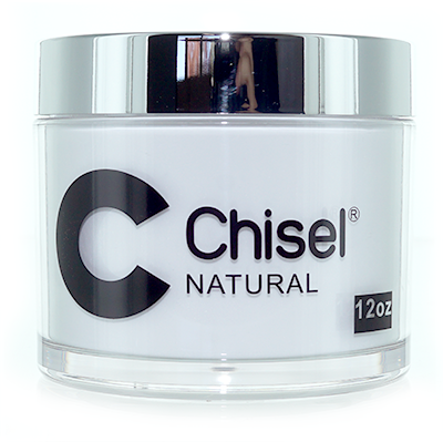 Chisel 2in1 Dipping Powder,  NATURAL, 12oz
