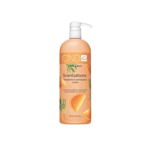CND Hand & Body Scentsations | Tangerine & Lemongrass Lotion 917mL (31 fl oz)