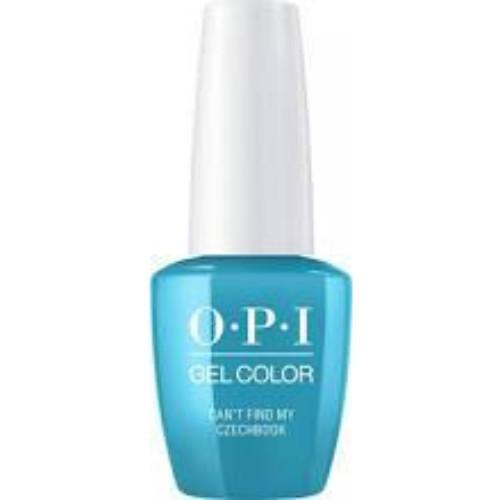 OPI GelColor, E75, Can't Find My Czechbook, 0.5oz