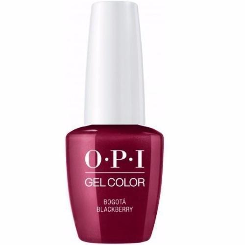 OPI GelColor, F52, Bogota Blackberry, 0.5oz