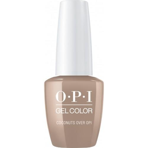 OPI GelColor, Fiji Collection, F89, Coconuts Over OP, 0.5oz