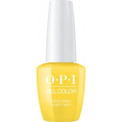 OPI GelColor, Fiji Collection, F91, Exotic Birds Do Not Tweet, 0.5oz