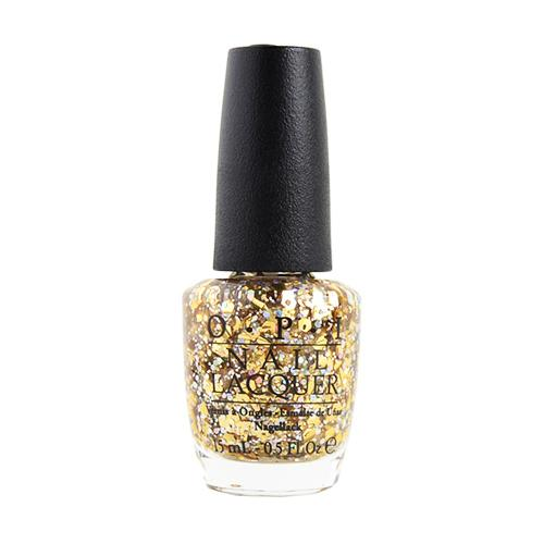 OPI Nail Lacquer, NL G02, ShowGirls Collection, I Reached My Gold!