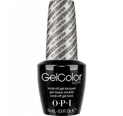 OPI GelColor, G05, DS Pewter, 0.5oz