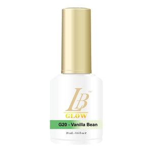 IGel LB Glow In The Dark Gel Polish 0.6oz, G20 Vanilla Bean