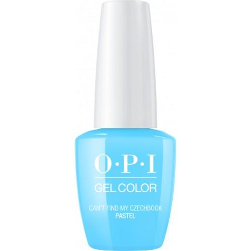 OPI GelColor, GC101, Pastel - Can't Find My Czechbook, 0.5oz