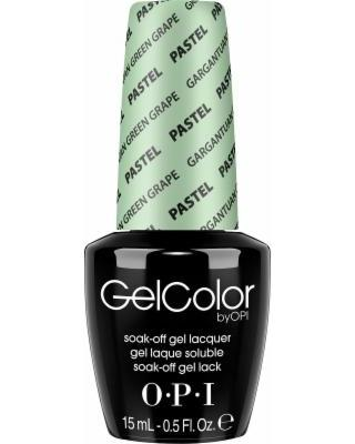 OPI GelColor, GC103, Pastel - Gargantuan Green Grape, 0.5oz