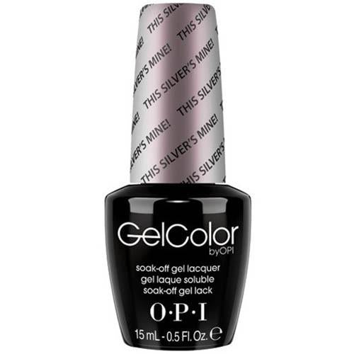 OPI GelColor, T67, This Silver Is Mine, 0.5oz