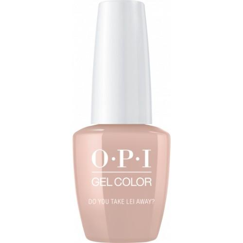 OPI GelColor, H67, Do You Take Lei Away?, 0.5oz