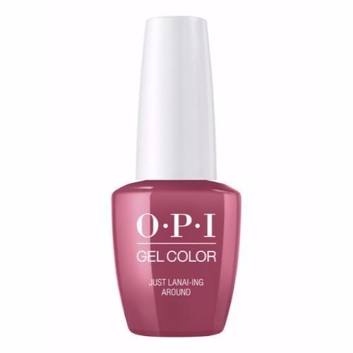 OPI GelColor, H72, Just Lanai-ing Around, 0.5oz