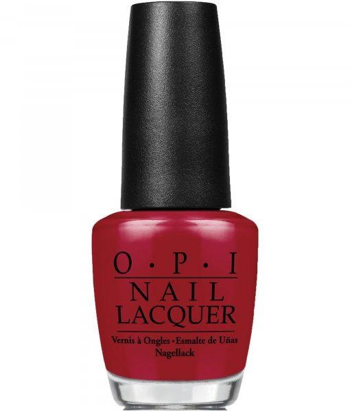 OPI Nail Lacquer, NL HRH08, Breakfast at Tiffany's Collection, Got The Mean Reds