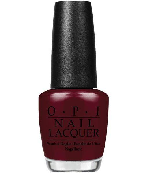 OPI Nail Lacquer, NL HRH12, Breakfast at Tiffany's Collection, Can't Read Without My Lipstick