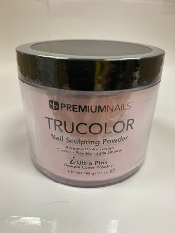 PremiumNails TRUCOLOR Nail Sculpting Powder | iUltra Pink 3.7oz.