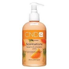 CND Hand & Body Scentsations | Tangerine & Lemongrass Lotion 245mL (8.4 fl oz)