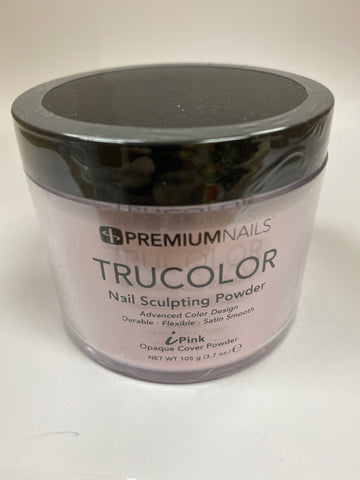 PremiumNails TRUCOLOR Nail Sculpting Powder | iPink 3.7oz.