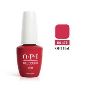 OPI GelColor, L72, Red, 0.5oz