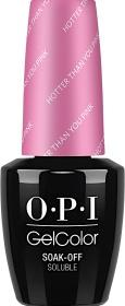 OPI GelColor, N36, Hotter than You Pink, 0.5oz