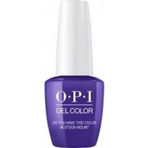 OPI GelColor, N47, Do You Have This Color in Stock-holm?, 0.5oz