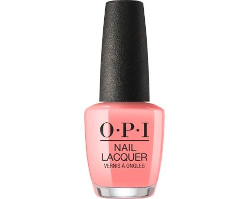 OPI Nail Lacquer 3, Lisbon Collection, NL L17, You've Got Nata On Me, 0.5oz