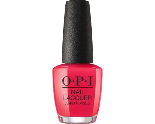 OPI Nail Lacquer 3, Lisbon Collection, NL L20, We Seafood and Eat It, 0.5oz