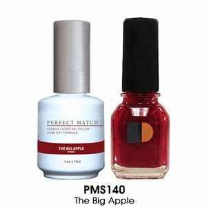 LeChat Perfect Match Nail Lacquer And Gel Polish, PMS140, The Big Apple, 0.5oz