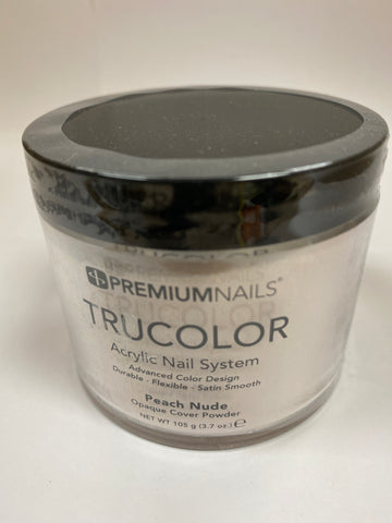 PremiumNails TRUCOLOR Nail Sculpting Powder | Peach Nude 3.7oz.