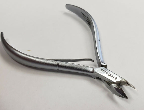 NGHIA NNC Silver Hard Steel D-506 Full Jaw Cuticle Nipper