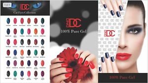 DC Gel Polish Cat Eyes Full Collection of 36 Colors (from 001 to 036), 0.6oz