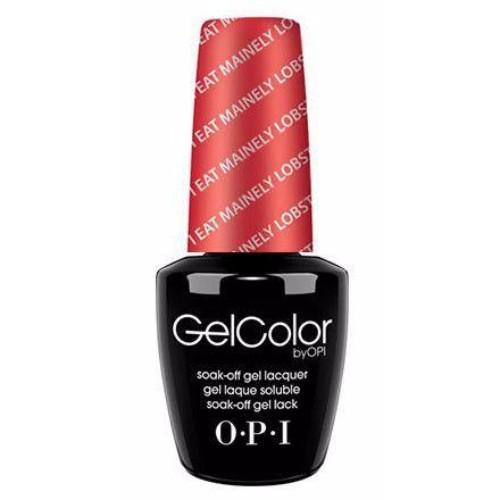 OPI GelColor, T30, I Eat Mainey Lobster, 0.5oz