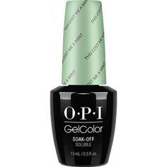 OPI Gelcolor, T72, This Coast Me A Mint, 0.5oz