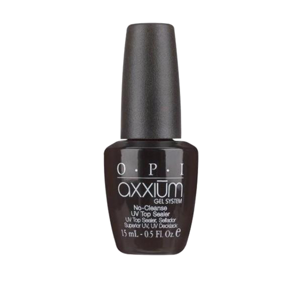 OPI Axxium No Cleanse UV Top Sealer, 8040, 0.5oz