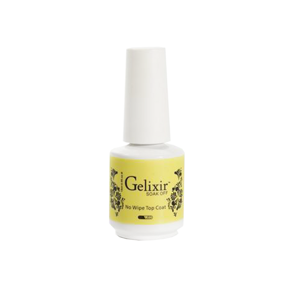 Gelixir No Wipe Top Coat, 0.5oz