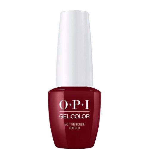 OPI GelColor, W52, Got The Blues For Red, 0.5oz