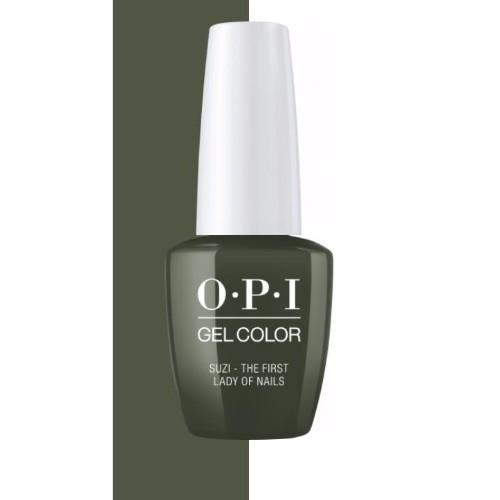 OPI GelColor, Washington DC Collection, W55, Suzi - The First Lady Of Nails, 0.5oz