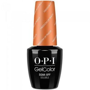 OPI GelColor, Washington DC Collection, W59, Freedom Of Peah, 0.5oz