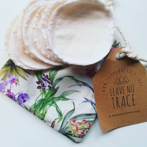 LEAVE NO TRACE ORGANIC COTTON FACIAL ROUND'S