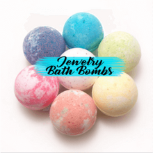 Bath Bombs with Rings inside