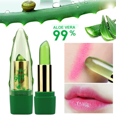 ALOE VERA Natural Temperature Change Color Jelly Lipstick