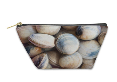 Accessory Pouch, Raw Clams In The Market