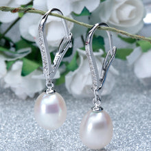 Sterling Silver, Freshwater Pearl Set of Earrings/Pendant/Necklace Set