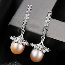 Loose Flowers Sterling Pearl Earrings