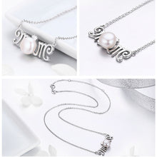 Silver Mom Gift for Mother Letter Pendant Necklaces