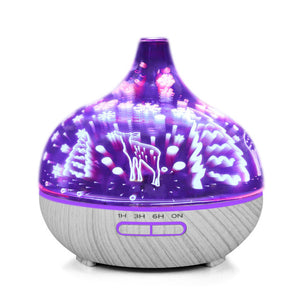 LED Ultrasonic Oil Diffuser