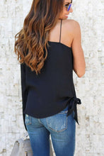 Load image into Gallery viewer, Chiffon One Shoulder Bell Sleeve  Blouses