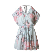 Load image into Gallery viewer, V Neck Printing Flower Strap Playsuit