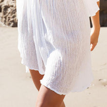Load image into Gallery viewer, Bohemia Sexy Plain Off-Shoulder Beach Vacation Dress